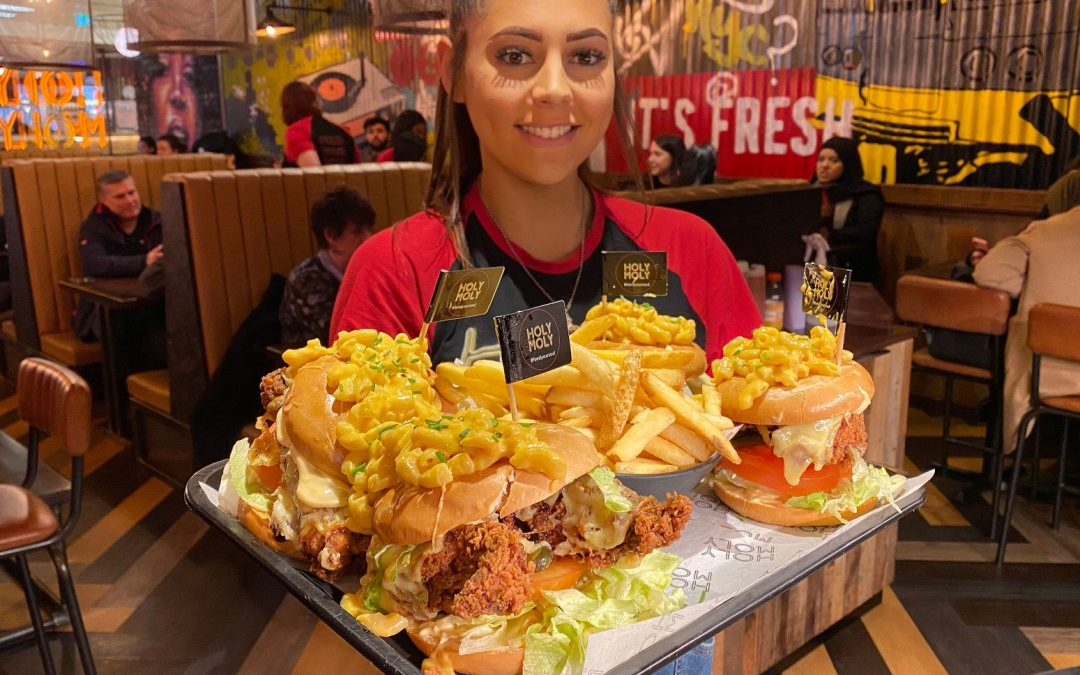 6x official world record holder, Leah Shutkever, takes on the 'Not so holy challenge'