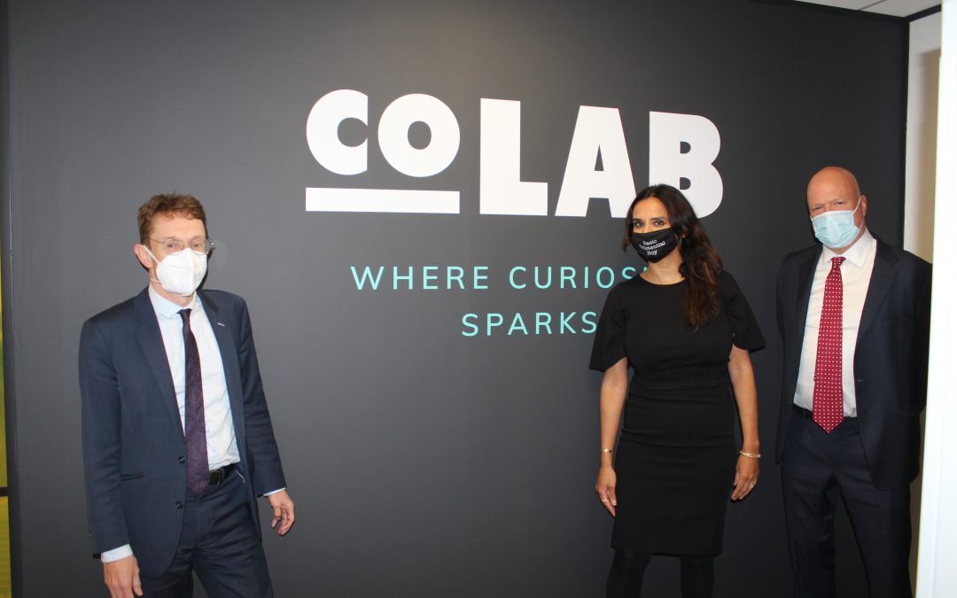 Mayor of West Midlands officially opens 'CoLAB' – a creative incubation centre to nurture young talent
